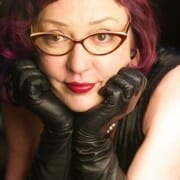 leather gloves fetishists mistress